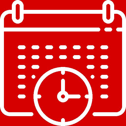 white calendar icon